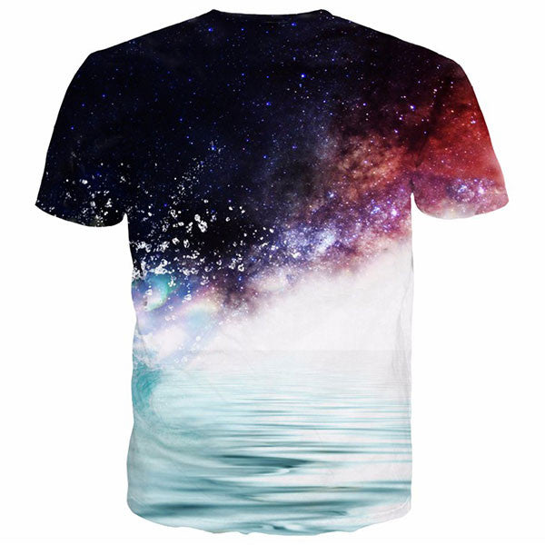 Cool Kakashi Galaxy 3D Shirts
