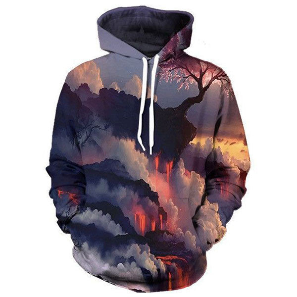 Mountain Clouds 3D Shirts