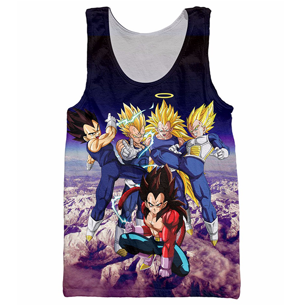 Vegeta Tank Top Shirts