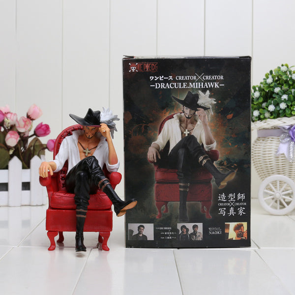Anime One Piece Cool Dracule Mihawk Prize Creator PVC Toy