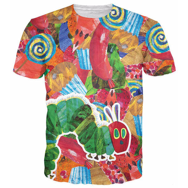 Oil Painting Vegetables And Fruits 3D Shirts