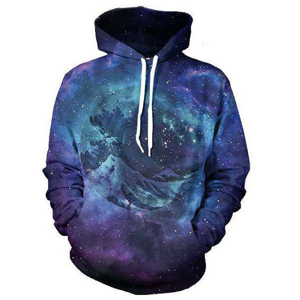 Wave Galaxy 3D Shirts