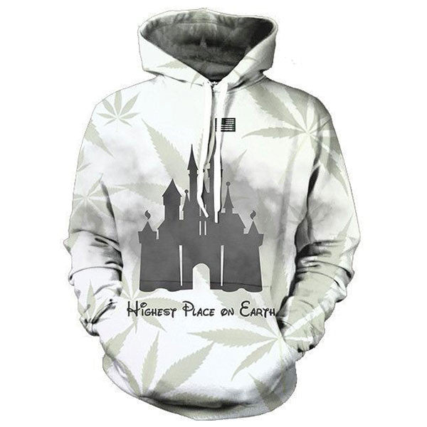 Highest Place On Earth 3D Shirts