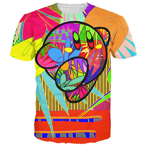 Kirby Colorful Shirts