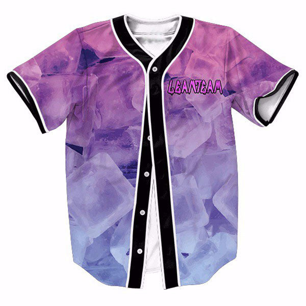 Ice Gradient Purple 3D New Shirts