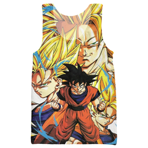 Dragon Ball Tank Top Shirts