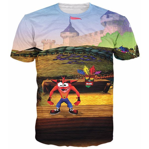 Crash Bandicoot Shirts