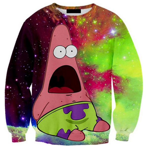 Patrick Star Galaxy Shirts