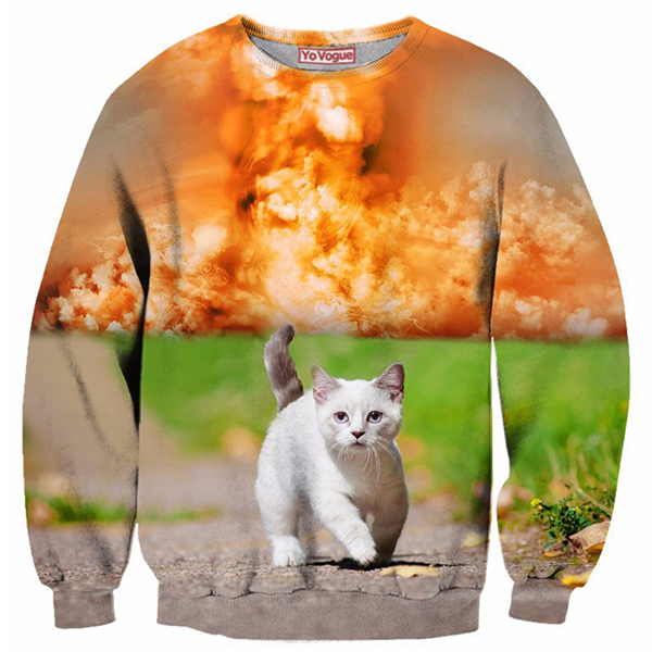 Cat On Field Shirts