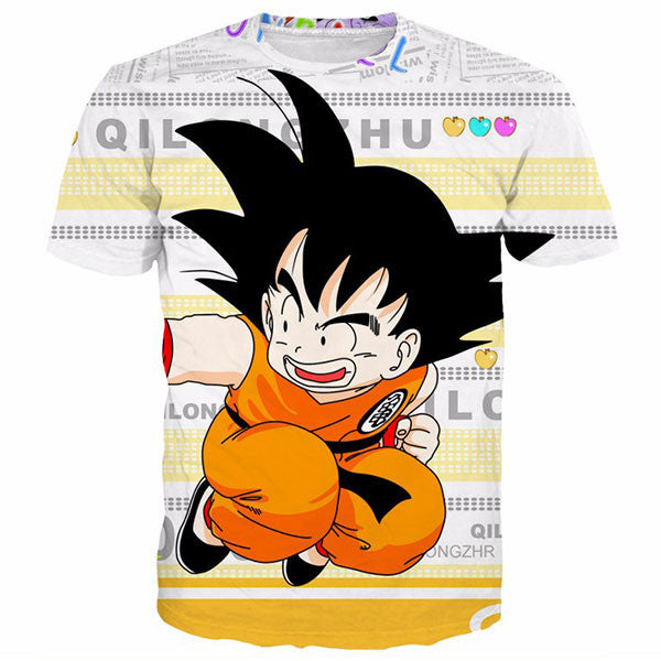 Newest Cute Kid Goku 3D Shirts