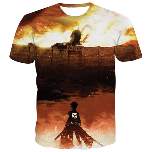 Attack On Titan 3D Shirts