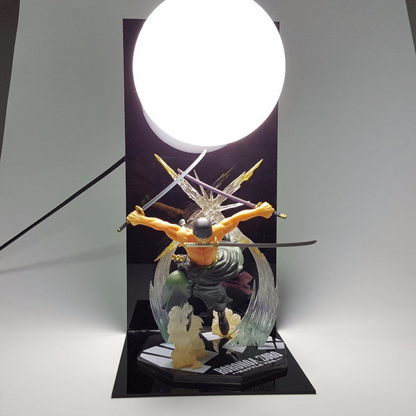 Roronoa Zoro One Piece 3D Lamp