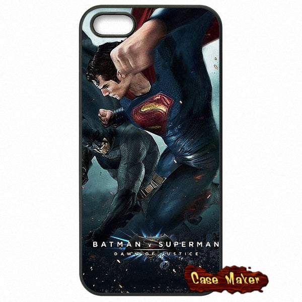Batman V Superman Fight Phone Case