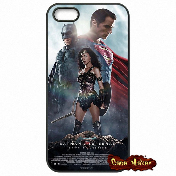Batman Superman Wonder Woman Phone Case