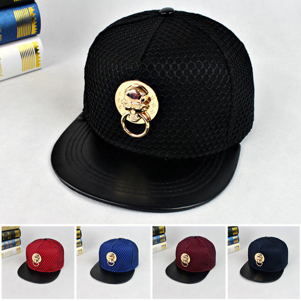 Casual Skull Baseball Hat