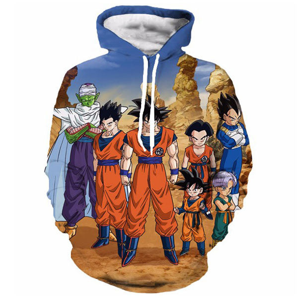 Goku & Friends 3D Shirts
