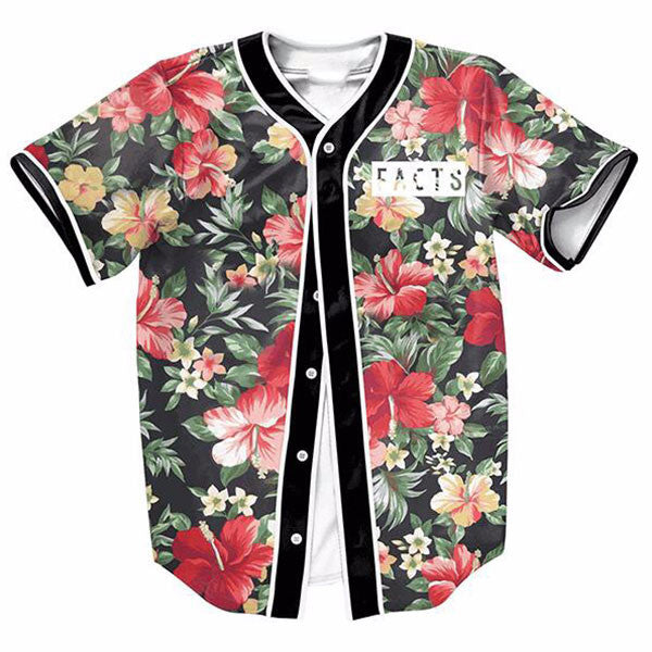 Flower Vintage Printed New Shirts