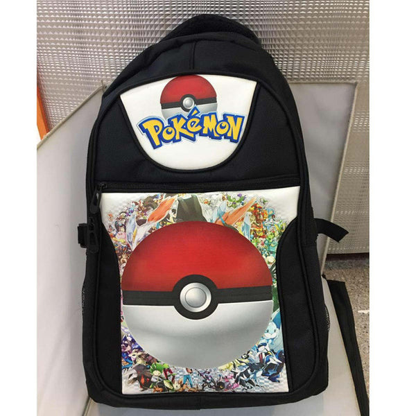 Poke Ball School Bag