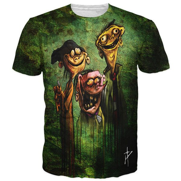 Ed Edd n Eddy On Bath Salts Shirts