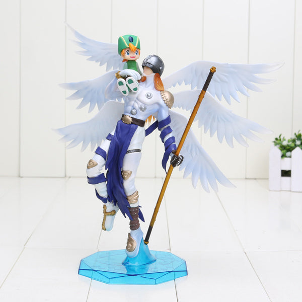 Anime Digimon Adventure Takaishi Takeru Angemon Angewomon Yagami PVC Toy