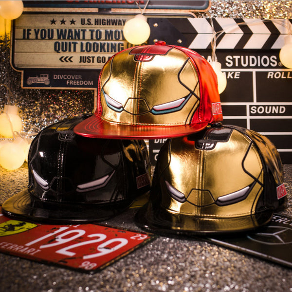 OXYMASK Iron Man Baseball Hat