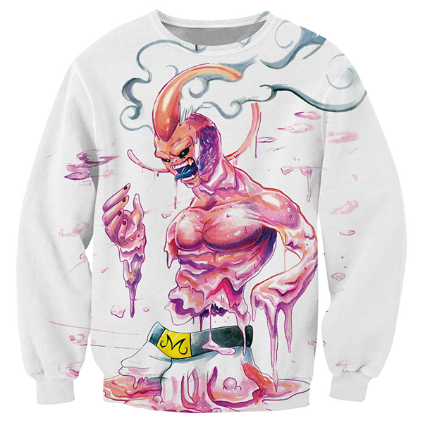 Super Buu 3D Printed Shirts