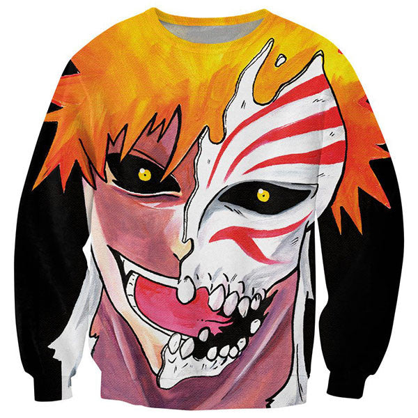 Ichigo Bleach Printed Shirts