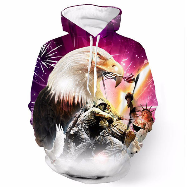 American Victorious Eagle 3D Shirts