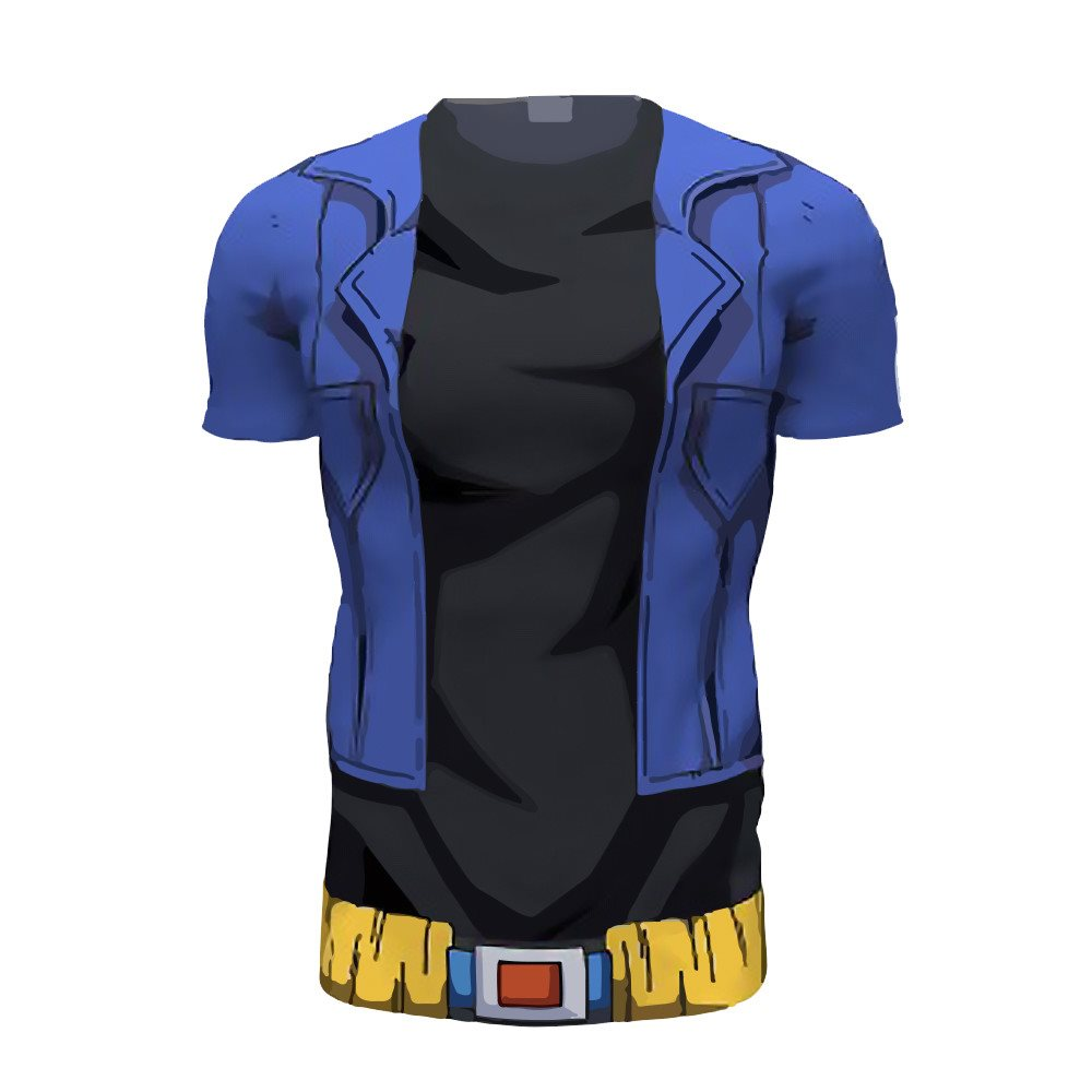Future Trunks 3D Printed Shirts