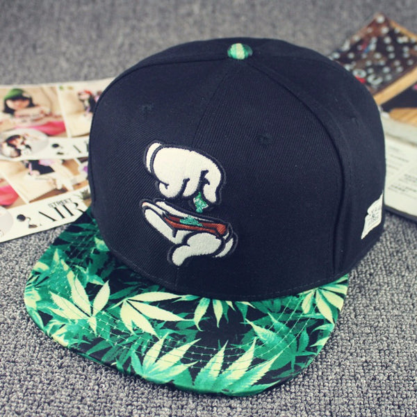 Marijuana Leaves Hat