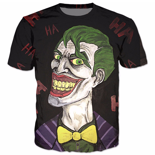 Joker Troll Printed Shirts