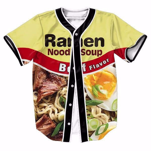 Ramen Noodle Soup 3D New Shirts