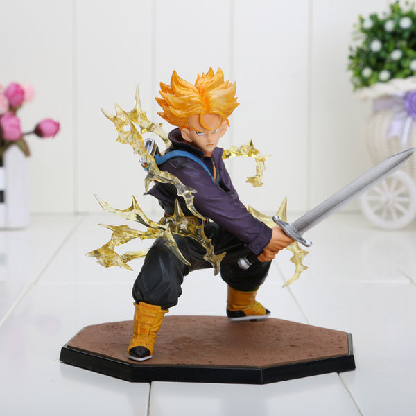 Dragon Ball Z Super Saiyan Trunks Battle Toy
