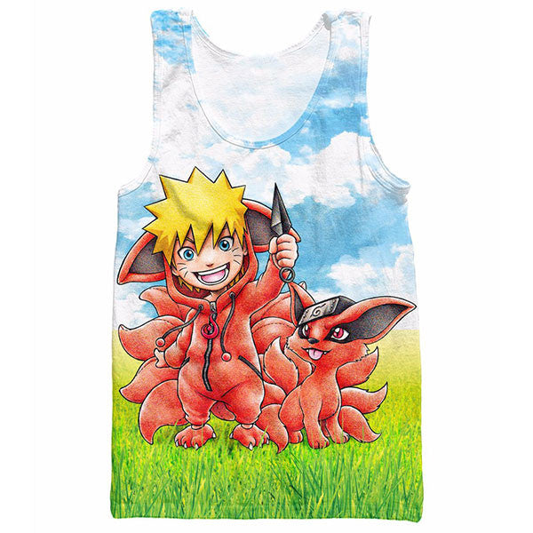 Naruto Hot Sale Tank Top Shirts