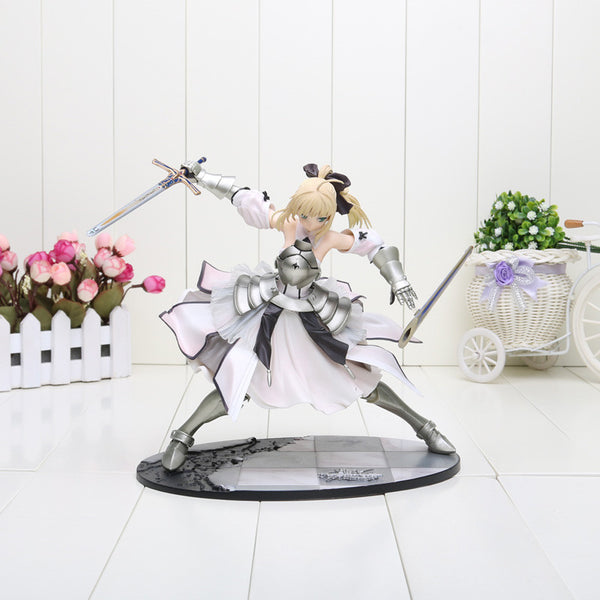 Fate Stay Night Saber Lily Avalon PVC Toy