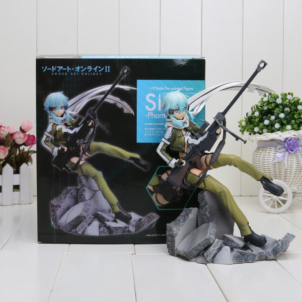 Sword Art Online GGO Asada Shino PVC Toy