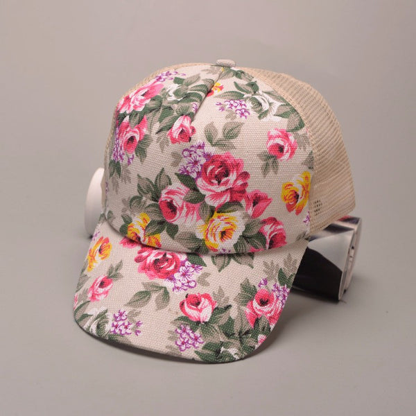 Flowers And Starfishes Hat