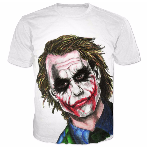 Joker Bad Printed Shirts