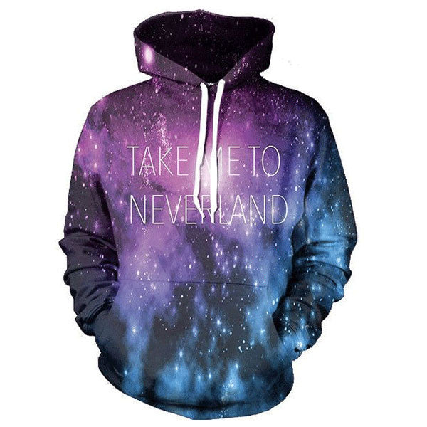 Take Me To Never Land Galaxy 3D Shirts
