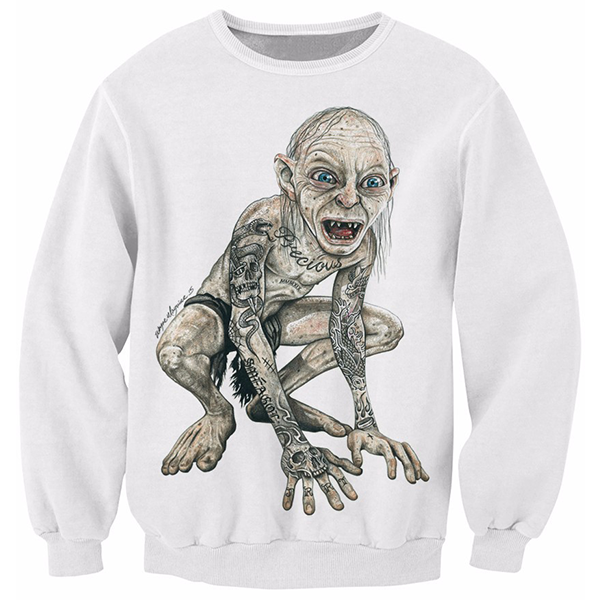 Tattoo Gollum The Lord Of The Rings Shirts