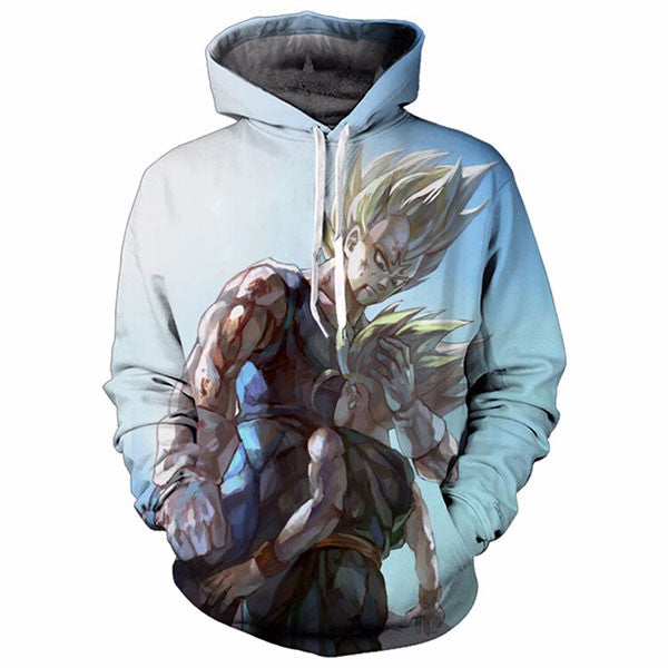 Majin Vegeta And Trunks 3D Shirts