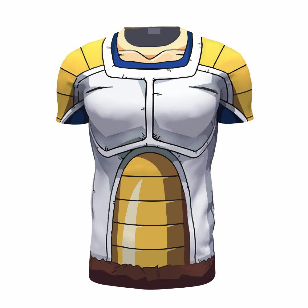 Vegeta Saiyan Armour 3D Printed Shirts