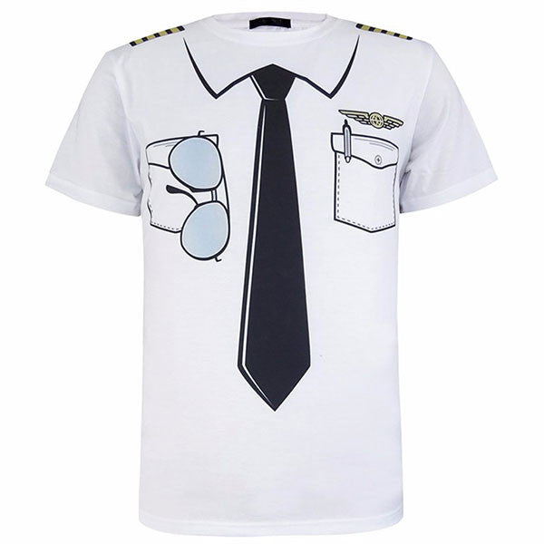 Funny Cosplay Costume Pilot 3D Shirts