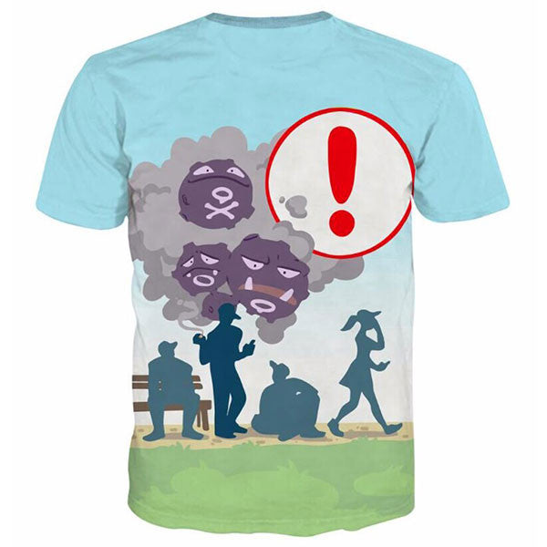 Weezing Pokemon Go Shirts