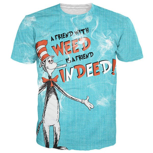 Dr. Seuss' The Cat Weed Indeed Shirts
