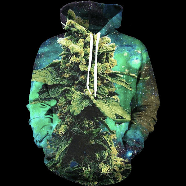 Space Weed 3D Shirts