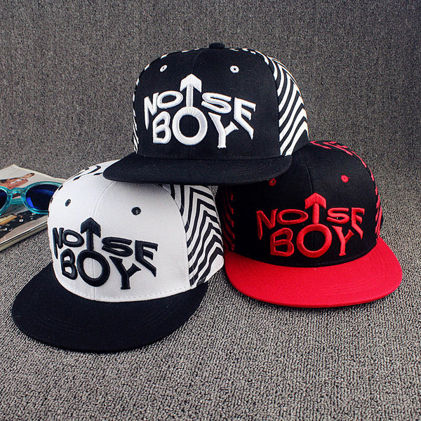 Nose Boy Embroidered Hat