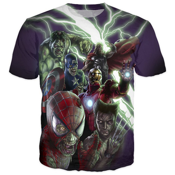 Marvel Zombies Printed Shirts