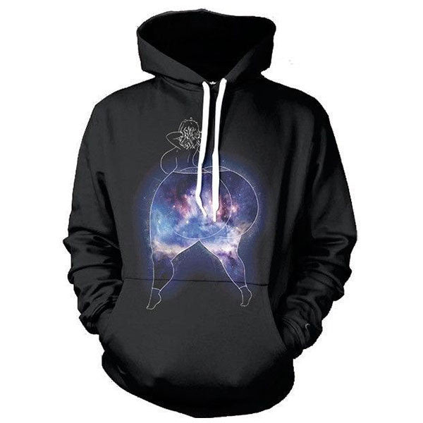 Galaxy Big Bottom 3D Shirts