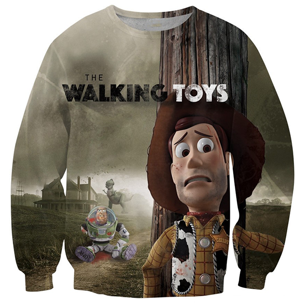 Walking Toys 3D Printed Shirts
